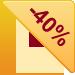Скидка -40%