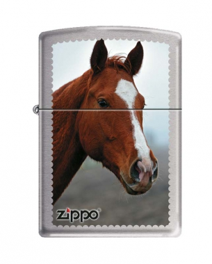 Фото Зажигалка ZIPPO 200 HORSE HEAD