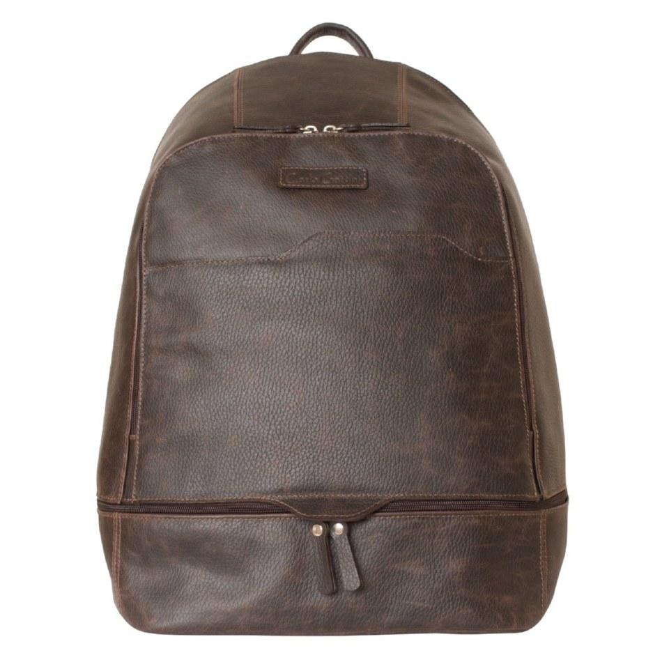 Фото Мужской кожаный рюкзак Мерленго коричневый