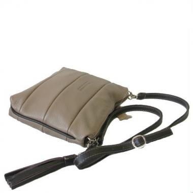 Фото Кожаная сумка на длинном ремне 3309