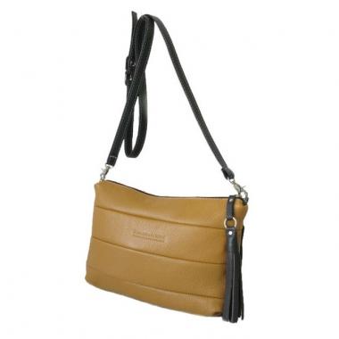 Фото Мягкая женская сумка 3309 горчица