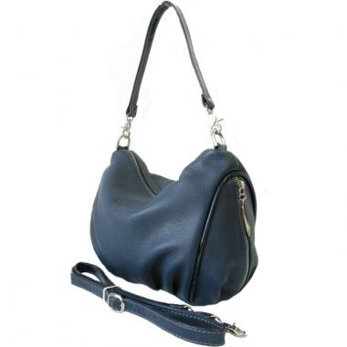 Фото Женская кожаная сумочка 3314 синяя