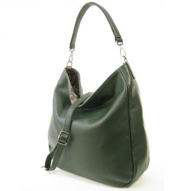 Фото Кожаная сумка-мешок 3634