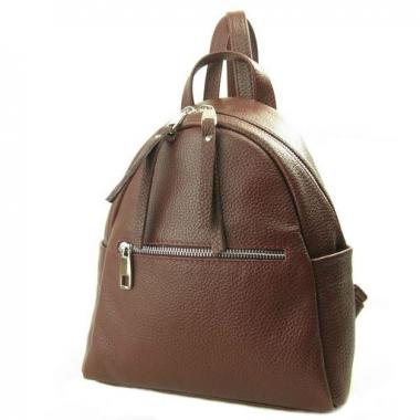 Фото Коричневый рюкзак из кожи 5014