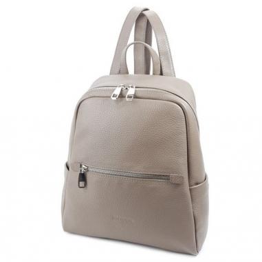 Фото Бежевый женский рюкзак 5045