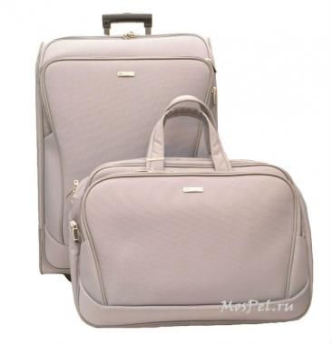 Фото Чемодан с сумкой в комплекте Proteca