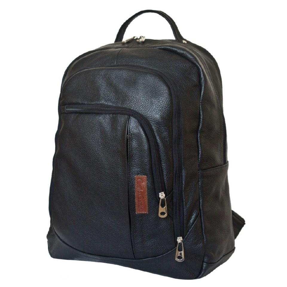 Фото Классический мужской рюкзак Марсано черный