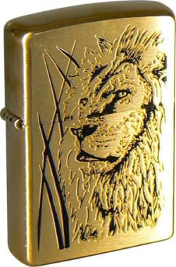 Фото Зажигалка Zippo 204B Proud Lion