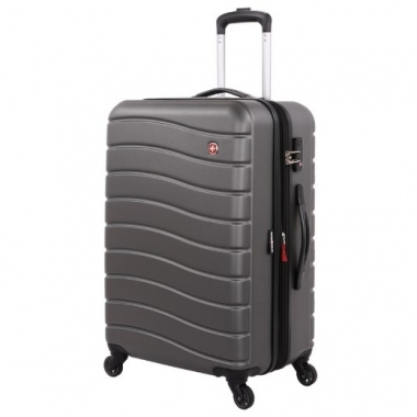 Фото Пластиковый чемодан на колесах Alverstone