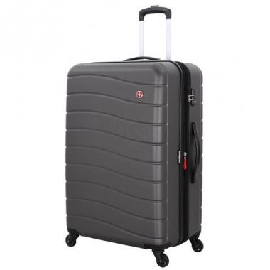 Фото Большой пластиковый чемодан Alverstone