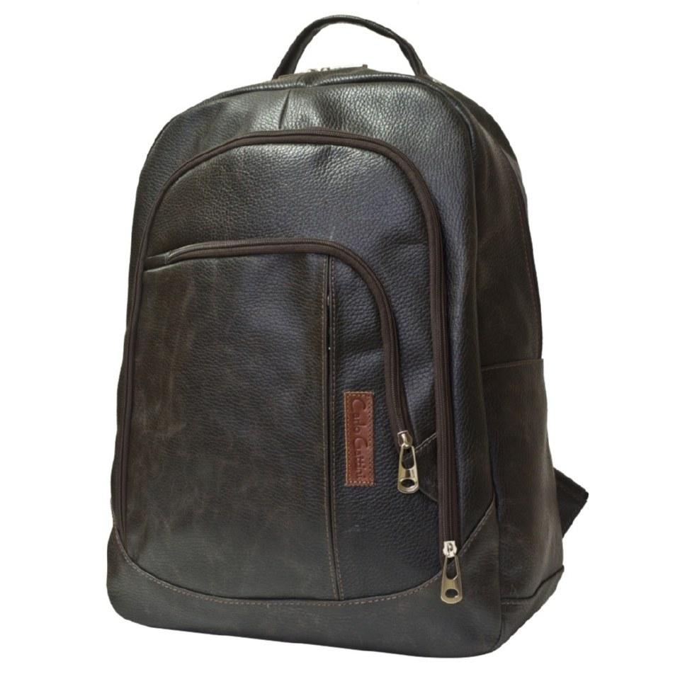Фото Классический большой рюкзак Марсано коричневый