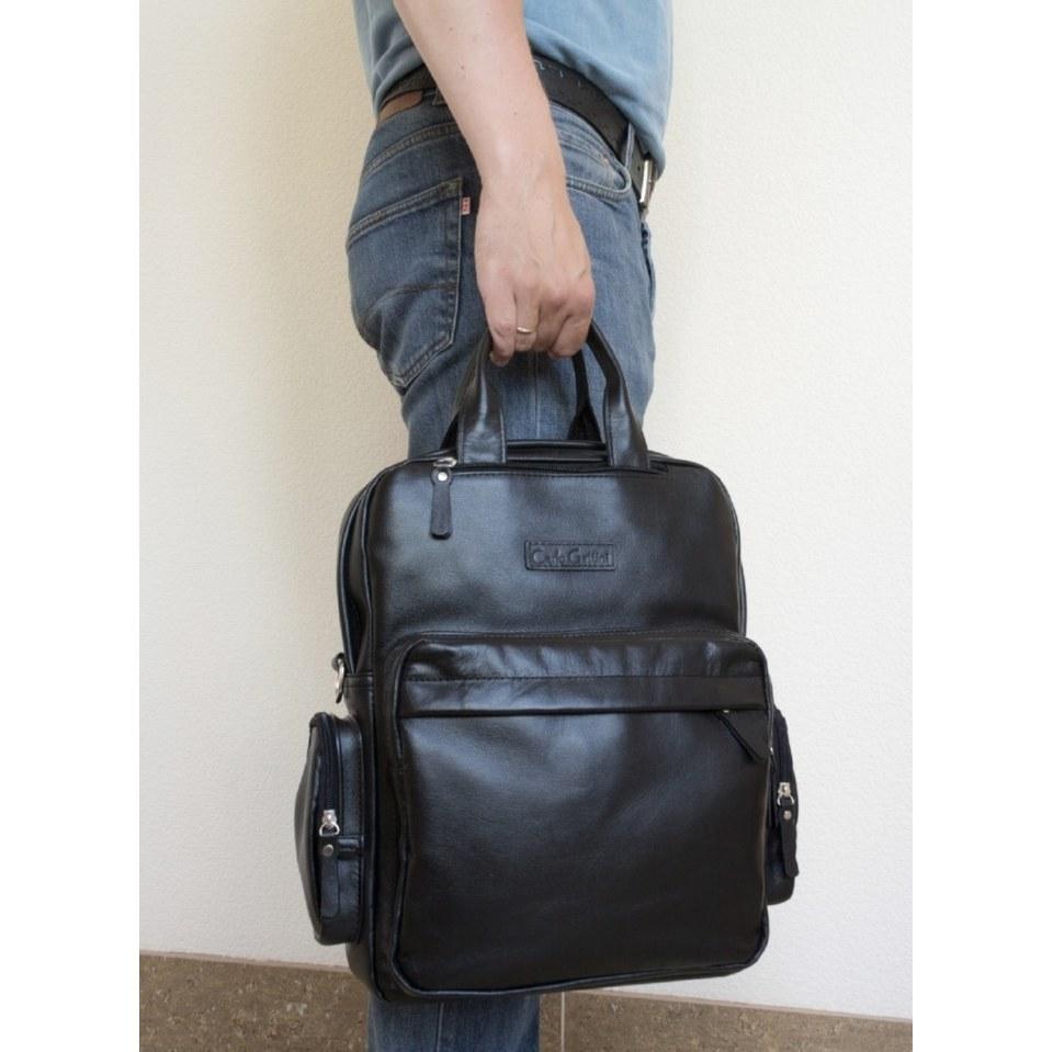 Фото Сумка-рюкзак Рено черная