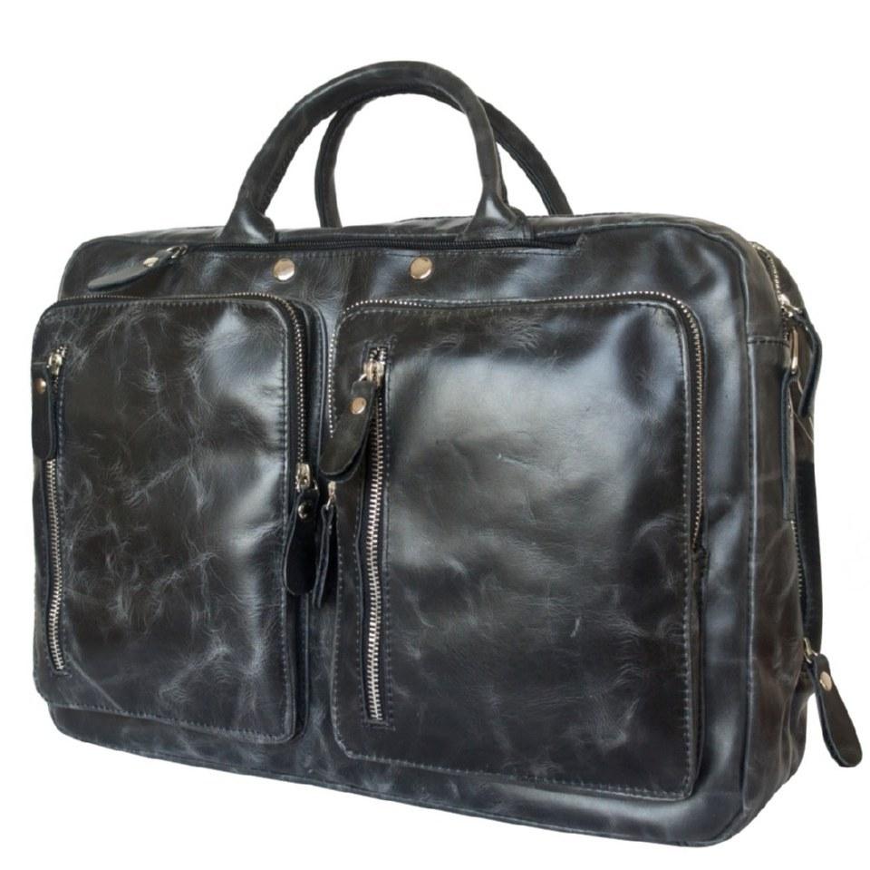 Фото Сумка-рюкзак мужская Ферроне черная