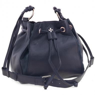 Фото Кожаная торба 9937 N.Polo D.Blue