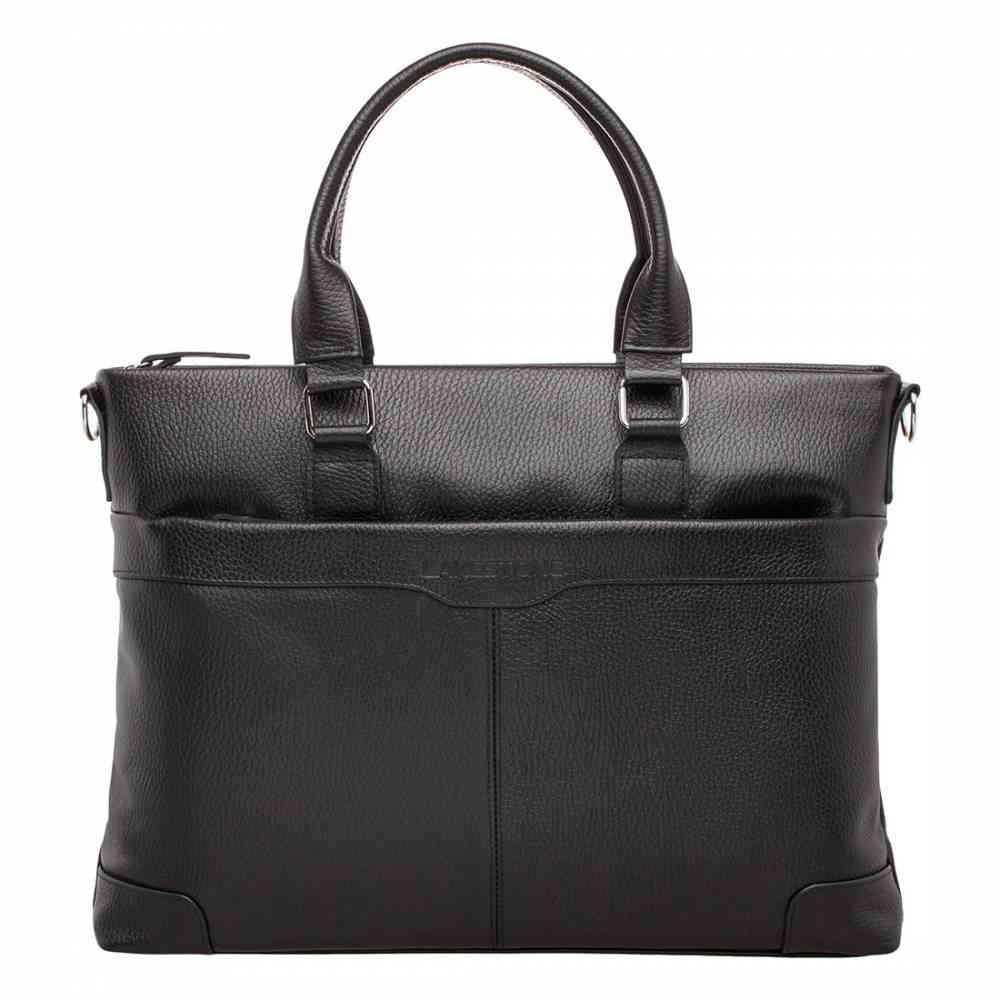 Фото Кожаная деловая сумка Gilroy