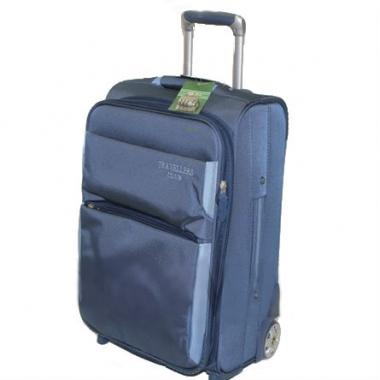 Фото Большой чемодан GM9137A-28 синий