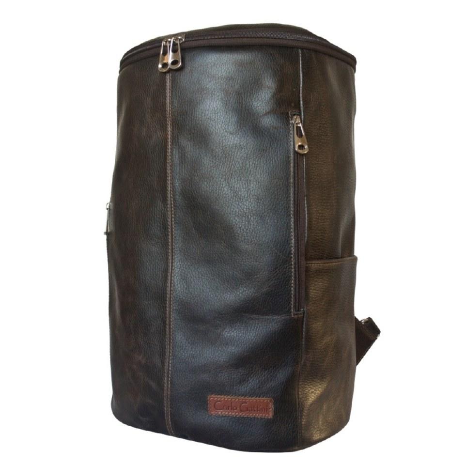 Фото Кожаный рюкзак Томба коричневый