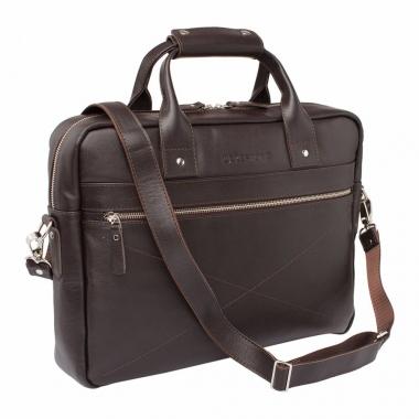 Фото Кожаная деловая сумка Bartley