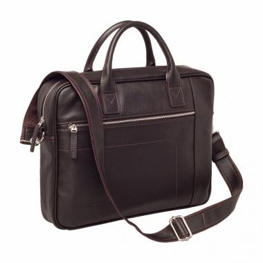 Фото Деловая сумка Baxter Brown кожаная