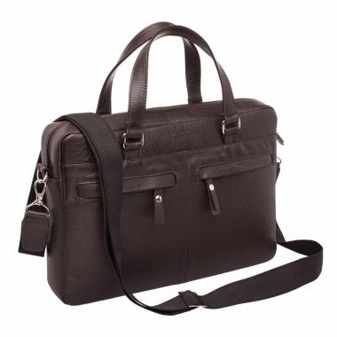 Фото Деловая сумка Bedford Brown кожаная