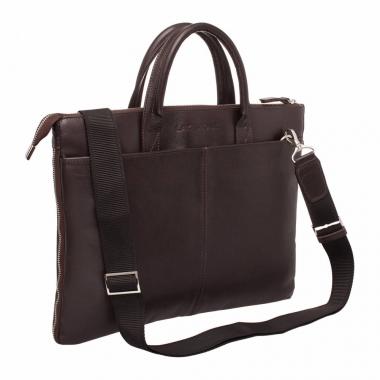 Фото Деловая сумка-папка Bolton Brown кожаная