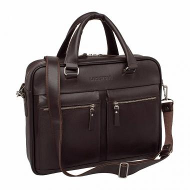 Фото Кожаная деловая сумка Colston Brown