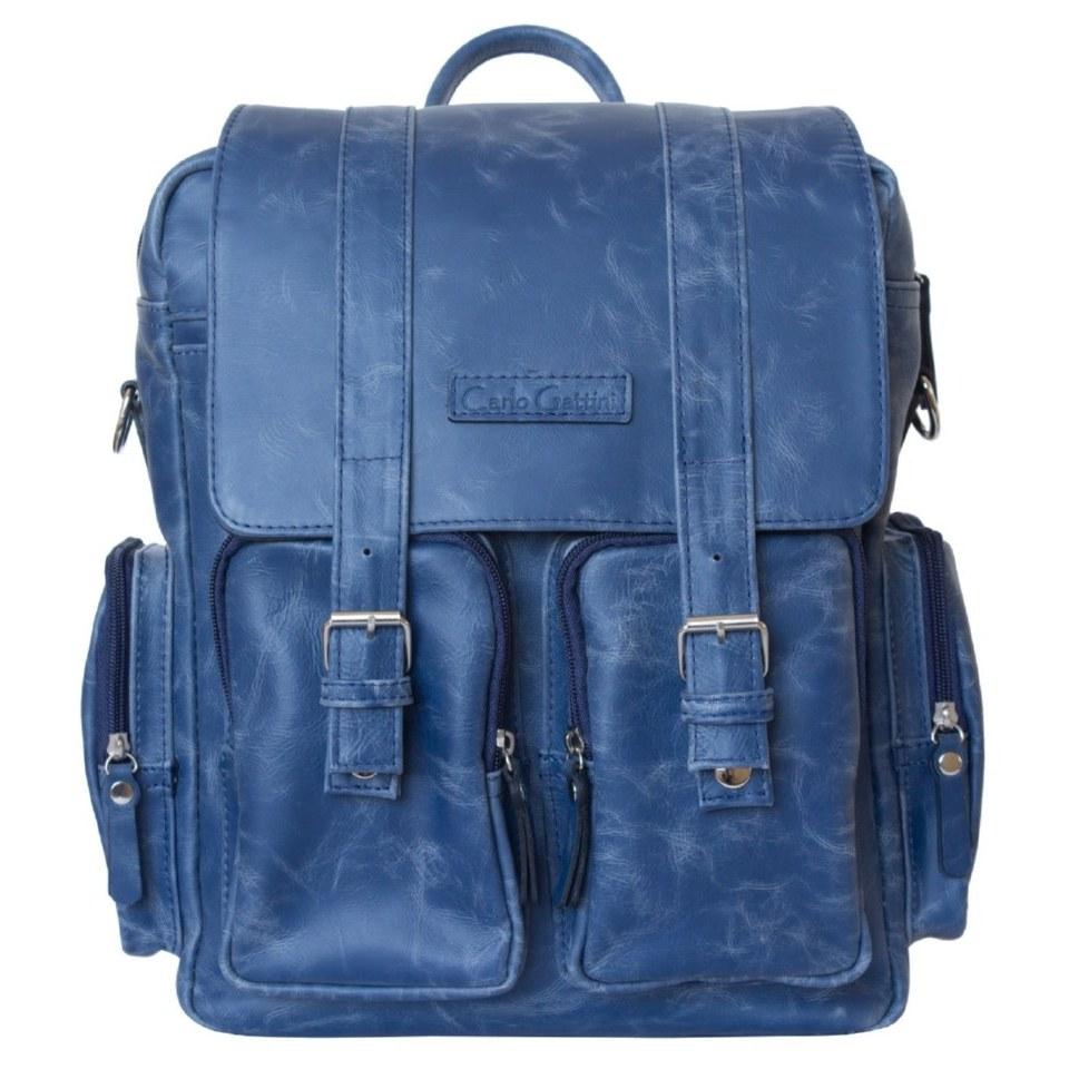 Фото Мужской сумка-рюкзак Фиорентино синий