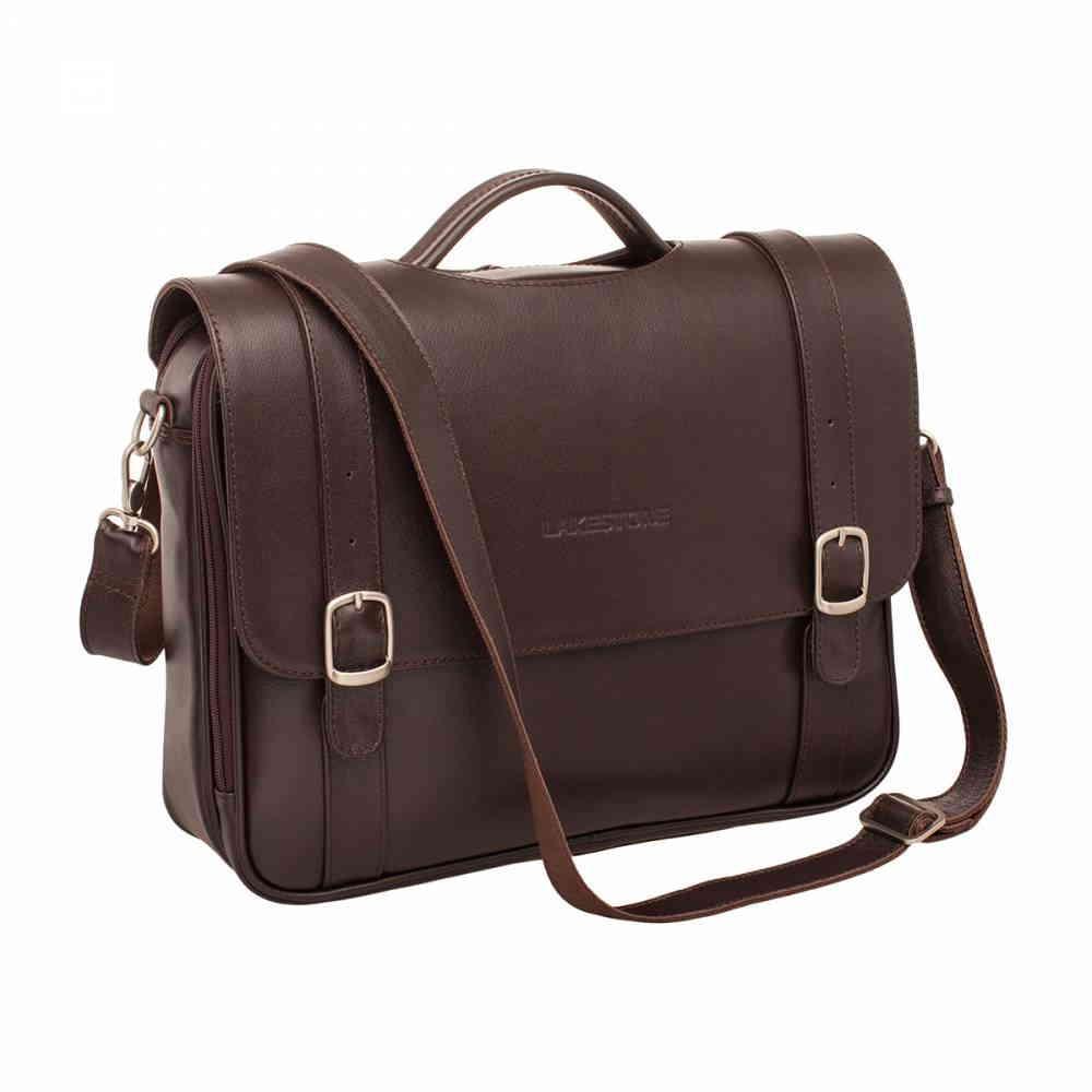 ce4f3ea05a21 Мягкий кожаный портфель Redcliff Brown в интернет магазине кожаных ...