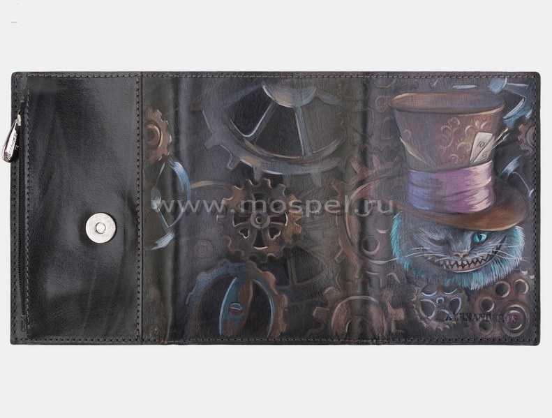 5b7761d9c651 Кошелек «Чешир в шляпе» - MosPel