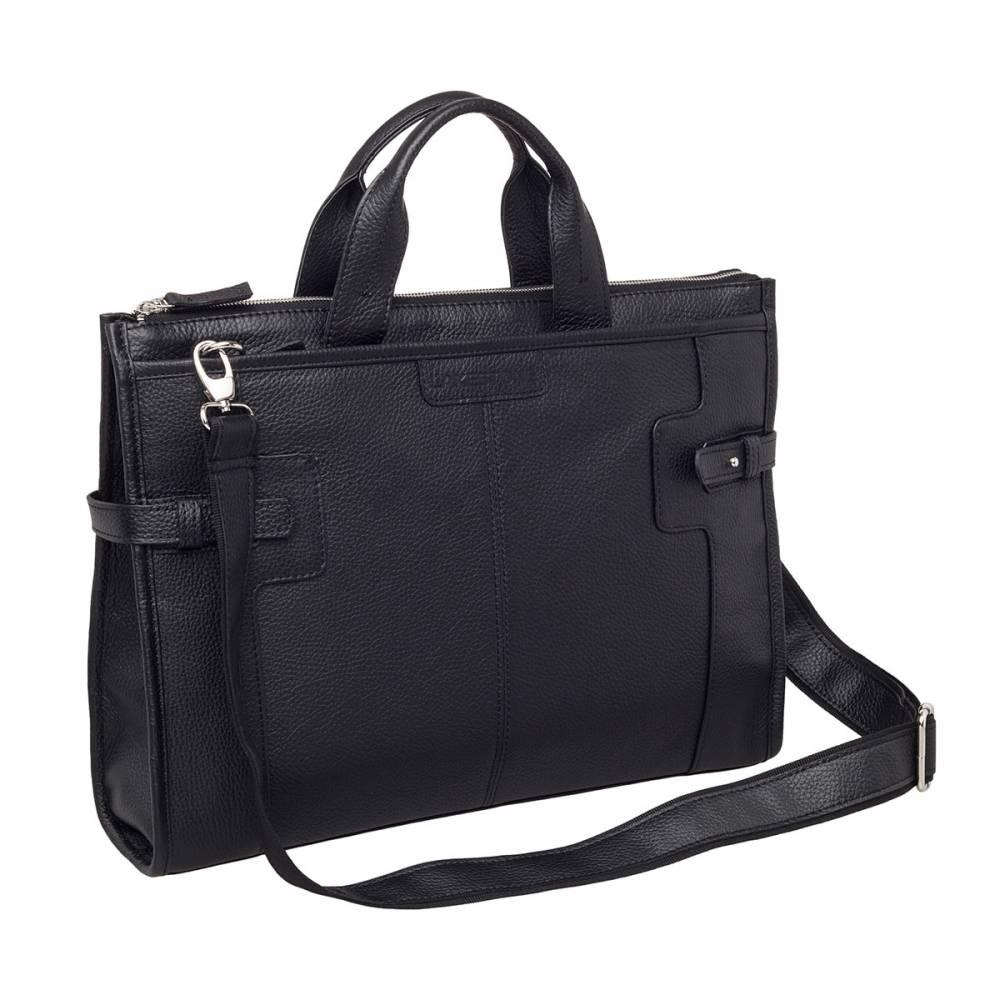 669bcd249d66 Кожаная сумка для документов Courtney Black в интернет магазине ...