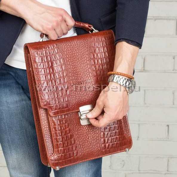 8196270b2482 Купить портфель Lakestone Gilbert Redwod Caiman в интернет магазине ...