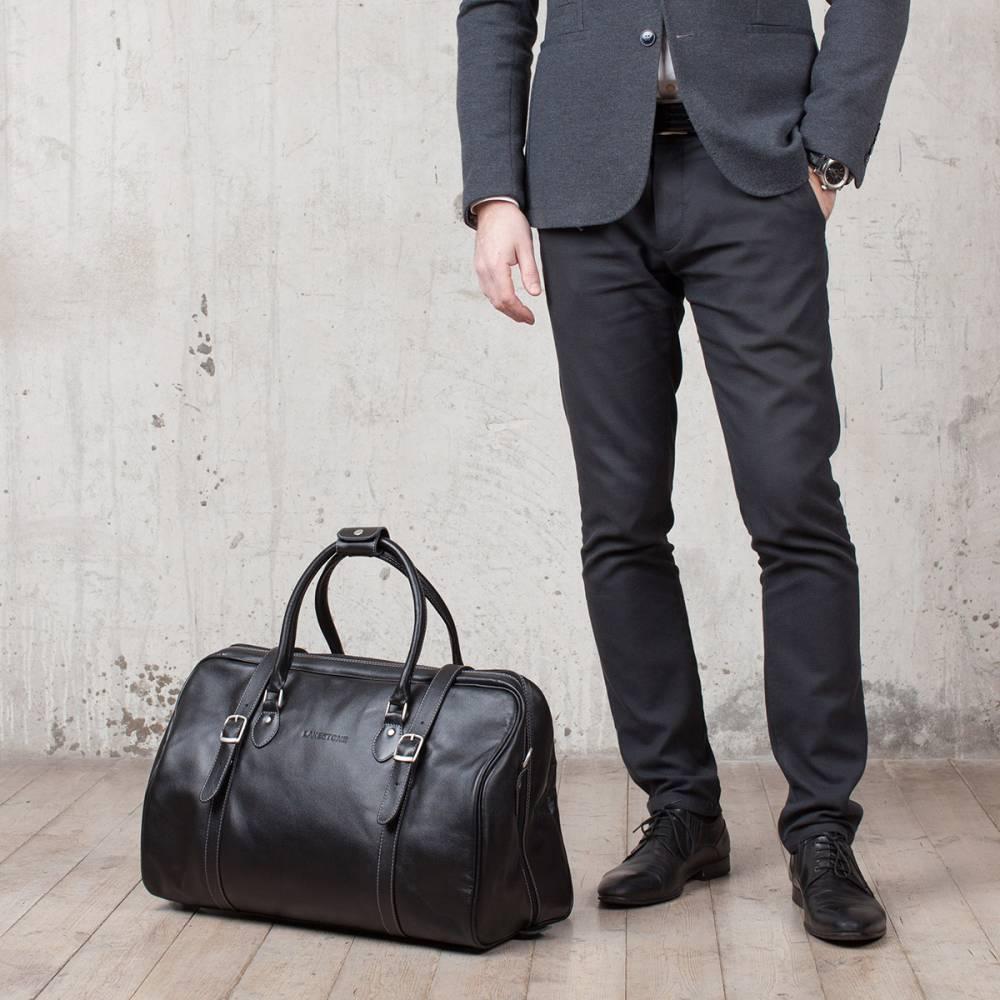 c56b6484ddac Мужская дорожная сумка Sandford Black — MosPel