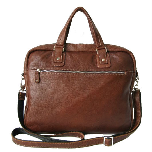 19466bf19406 Сумка кожаная рыжая KSK 7201 в интернет магазине деловых сумок MosPel