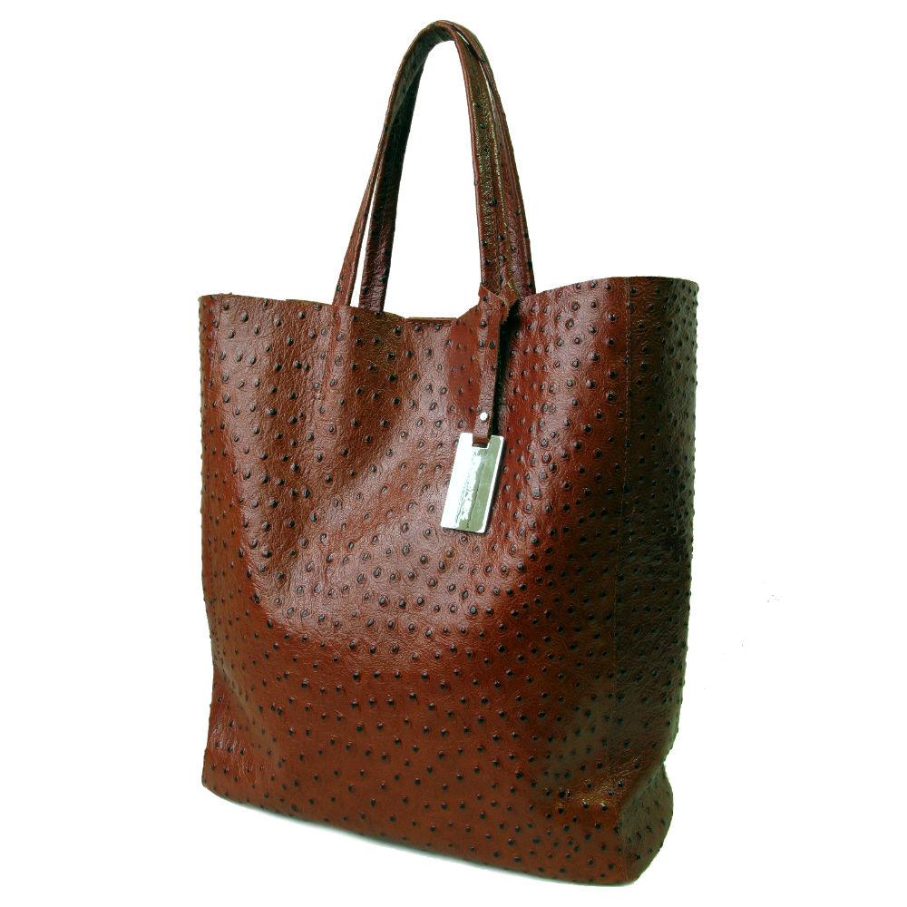 beb6f7c9159d Кожаная сумка шоппер KSK 3002 в интернет магазине больших женских ...