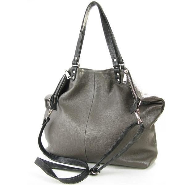 668baea0cf9e Серая сумка Studio KSK 3286 в интернет магазине больших сумок MosPel