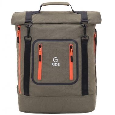 Фото Городской рюкзак цвета хаки Balthazar AUD01