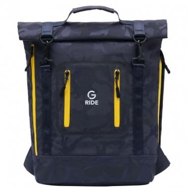 Фото Молодежный рюкзак синий камуфляж Balthazar AUD02