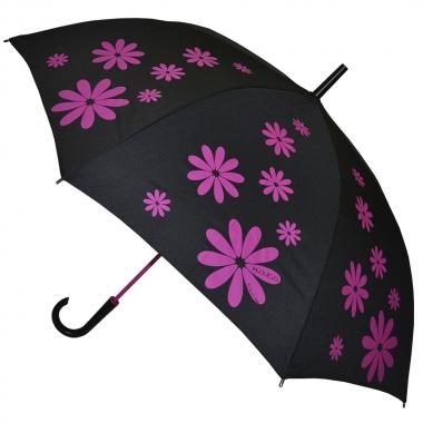 """Фото Зонт-трость H.404-3 """"Розовые ромашки"""""""