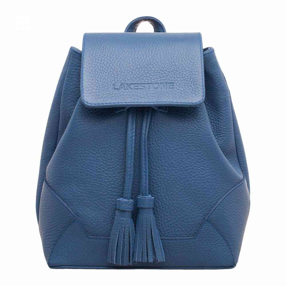 Фото Маленький рюкзак на шнурке Clare Blue