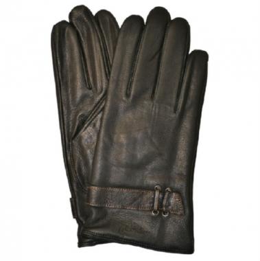 Фото Зимние мужские перчатки из кожи оленя