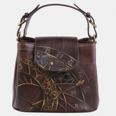 Фото Маленькая сумка Бейль «Механизмы времени»