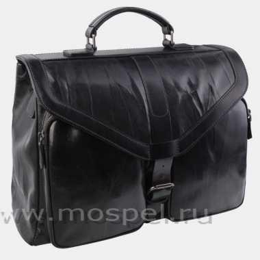 Фото Кожаный портфель PF0020 черный