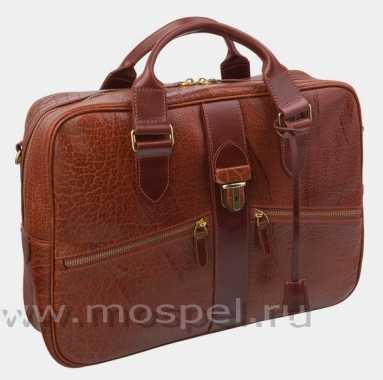 Фото Деловая сумка PF0022 Cognac Bizon
