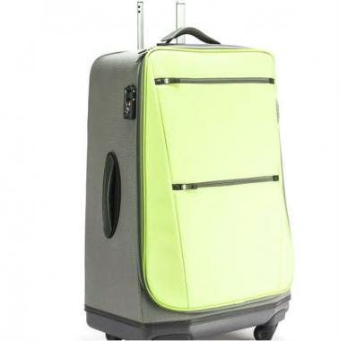 Фото Средний чемодан лимонно-желтый 63195