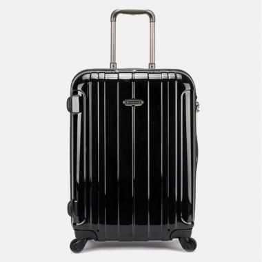 Фото Пластиковый чемодан на молнии 00866-01