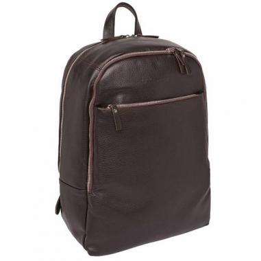Фото Кожаный рюкзак Faber коричневый