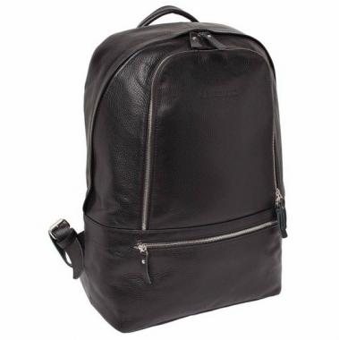 Фото Кожаный рюкзак Timber черный