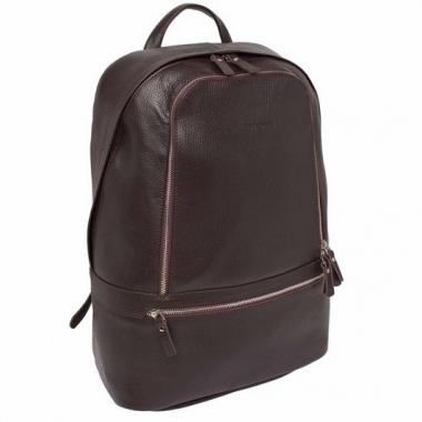 Фото Кожаный рюкзак Timber коричневый