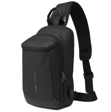 Фото Однолямочный рюкзак с карманом на спинке BG1910