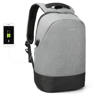 Фото Повседневный рюкзак с USB-портом T-B3595
